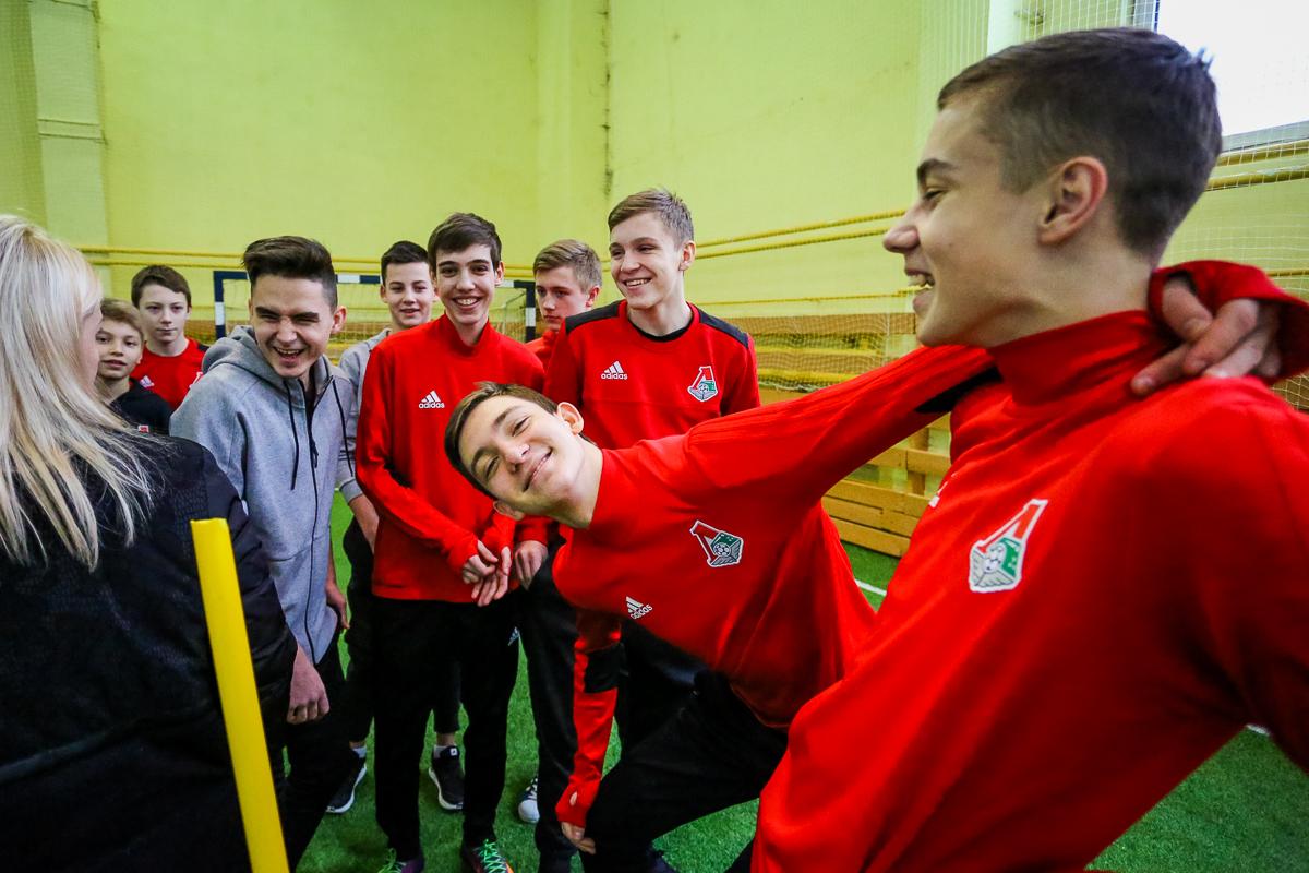 Празднование масленицы на «Локомотиве»