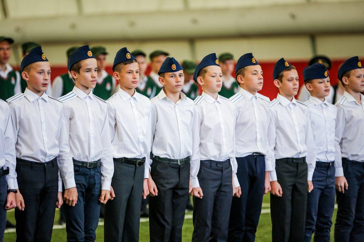 Ветераны посетили образовательную школу