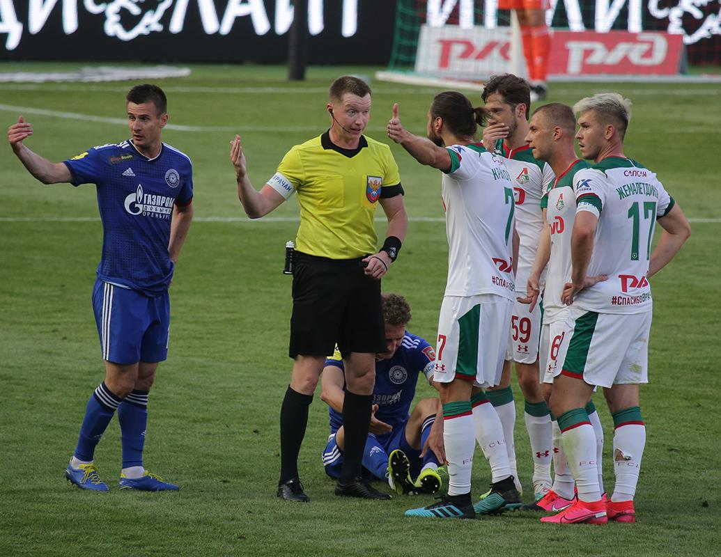 Локомотив - Оренбург, 1:0