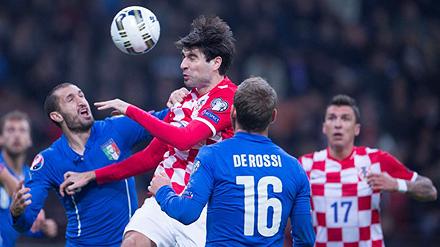Corluka Plays Full Time For Croatia