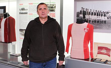 Виктор Горбачев побывал в музее «Локомотива»