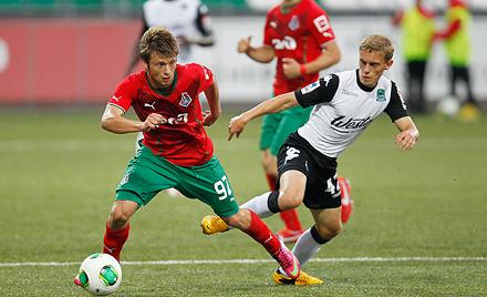 Алексей Турик продолжит карьеру в «Факеле»