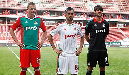 Lokomotiv's New Outfit By adidas!