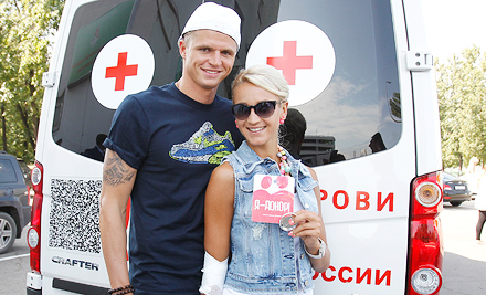 Леонид Кучук и Дмитрий Тарасов стали донорами крови