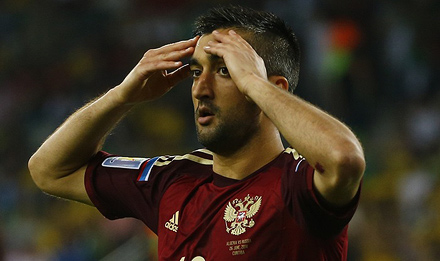 Samedov Has Played For National Team In Russia's Last Game on World Cup 2014