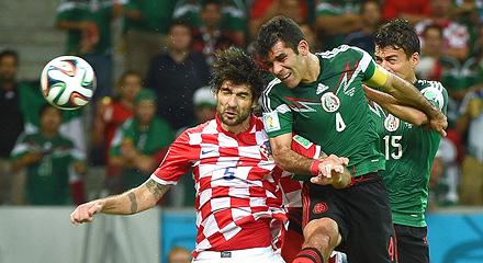 Ведран Чорлука провел полный матч против Мексики
