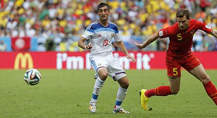 Samedov Has Played Against Belgium