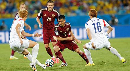 Aleksandr Samedov Has Played Against South Korea