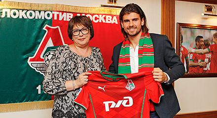 Lokomotiv Sign Nemanja Pejcinovic