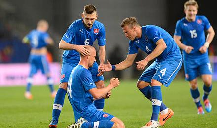 Дюрица сыграл за сборную Словакии
