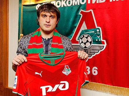 Алан Касаев: «В «Локомотиве» могу прибавить сам и помочь прибавить команде»