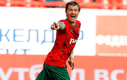 Павлюченко признан лучшим игроком 26-го тура