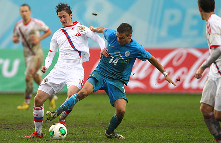 Алексей Миранчук сделал голевой пас в матче с Норвегией