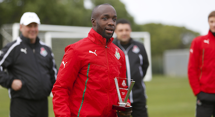 Lassana Diarra Awarded Player Of December Prize