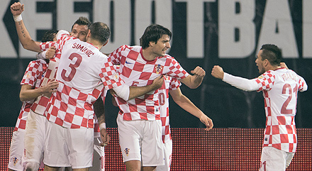 Vedran Corluka Takes Croatia to World Cup in Brazil