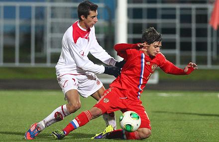 Игроки «молодежки» поучаствовали в победах юношеских сборных