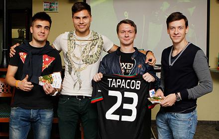 Поздравь Максима Беляева в «Вагоне»!