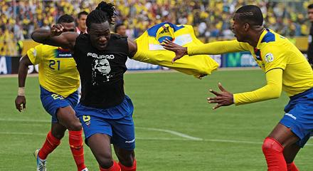 Кайседо забил очередной гол за сборную Эквадора