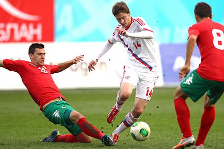 Алексей Миранчук принял участие в победе над Болгарией