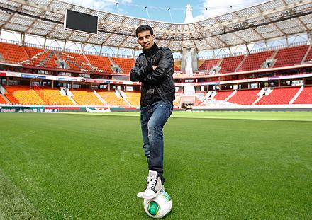 Мбарк Буссуфа: «Счастлив быть в «Локомотиве»
