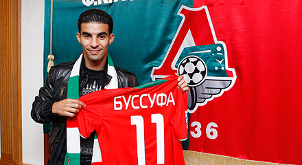 Mbark Boussoufa Signs Deal With Lokomotiv Moscow