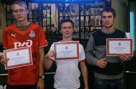 Антон Кубрак выиграл первый летний турнир по FIFA 13