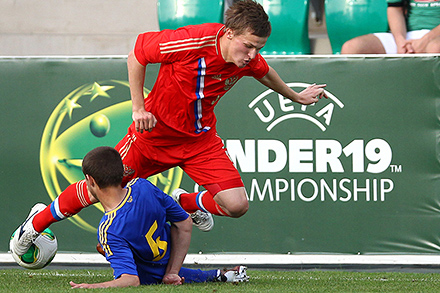 Серасхов поучаствовал в матче с Украиной
