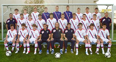 Серасхов попал в состав юношеской сборной на элитный отборочный раунд Евро-2013