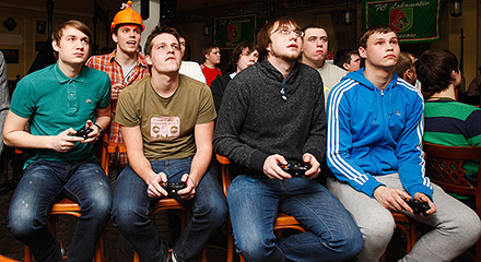 Суперкубок по FIFA 13 в «Вагоне»!