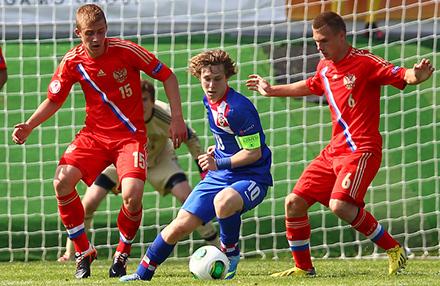 Трое «железнодорожников» приняли участие в матче с Хорватией