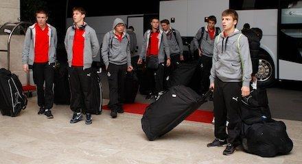 Молодежный состав прибыл в Анталью