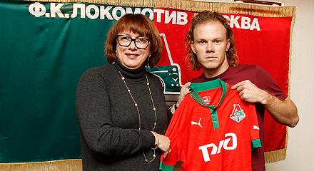 «Локомотив» подписал Виталия Денисова