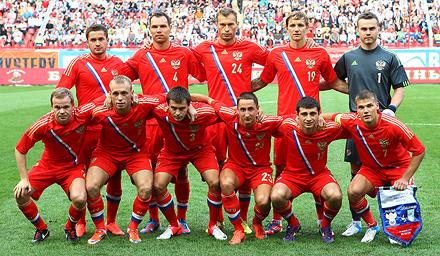 Глушаков поучаствовал в победе сборной России
