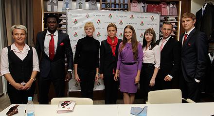 Презентация партнерства «Локомотива» и The Windsor Knot
