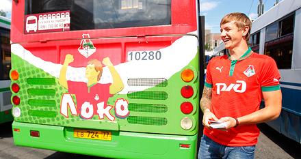 Столичный общественный транспорт становится красно-зеленым!