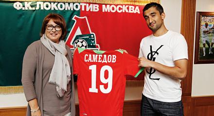 Alexander Samedov signs contract with Lokomotiv
