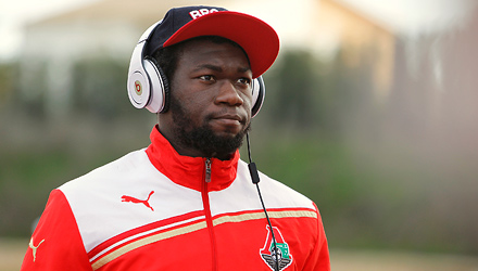 """Felipe Caicedo: """"Moscow's unlike any other city and I love it"""""""