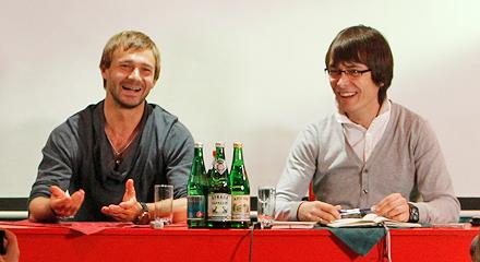 Дмитрий Сычев встретился с болельщиками «Локомотива»