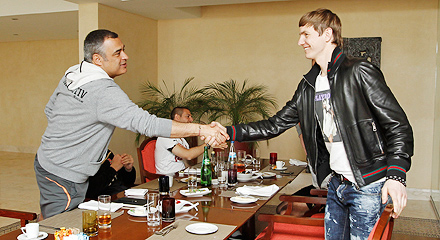 Roman Pavlyuchenko has arrived in Lagos