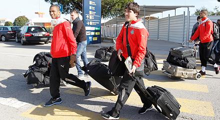 «Локомотив» прибыл в Португалию