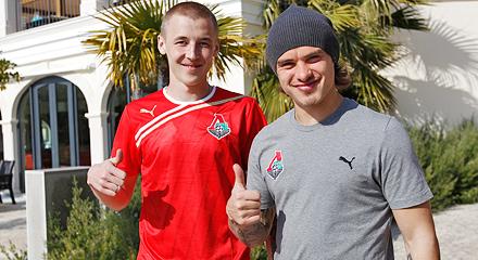 Познакомься с Андреем Ещенко и Максимом Григорьевым в музее «Локомотива»!