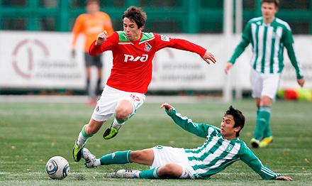 Георгий Бурнаш вызван в молодежную сборную России