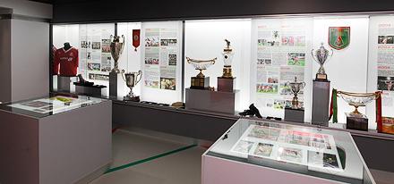 Посети музей перед матчем!