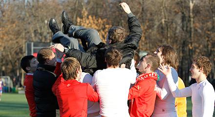 Владимир Волчек: «Мы доказали, что «Локомотив» - лучшая команда в молодежном первенстве страны»