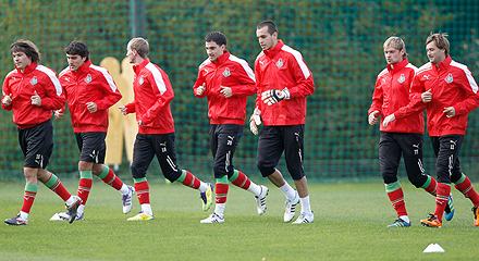 Lokomotiv had a training in Bakovka