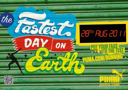 PUMA приглашает всех фанатов «Локо» на ямайскую вечеринку «Самый быстрый день на земле»!