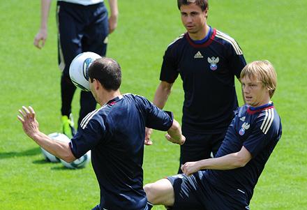 Игроки «Локо» - в сборной России