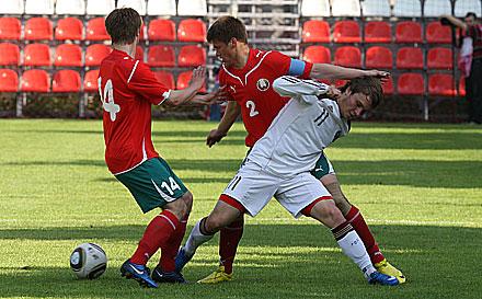 Футболисты «Локо» сыграли за юношескую сборную России