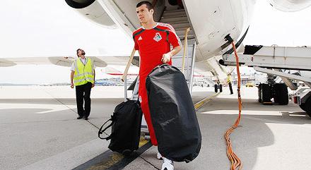 «Локомотив» прилетел в Швейцарию