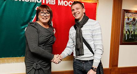 Ян Тигорев – в «Локомотиве»!